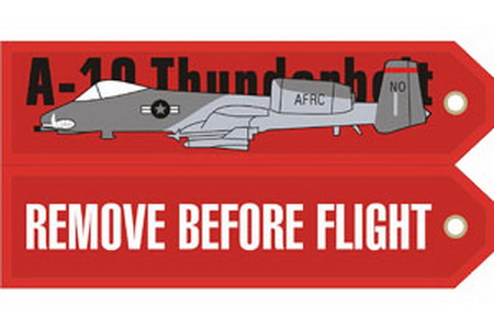 A10 Thunderbolt Embroideredg, ACI Aviation Jewelry and Bagtem Number RBF010