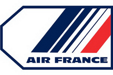 Air France Bag Tag, ACI Aviation Jewelry and Bag Tags Item Number TAG012