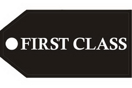 First Class Bag Tag, ACI Aviation Jewelry and Bag Tags Item Number TAG201