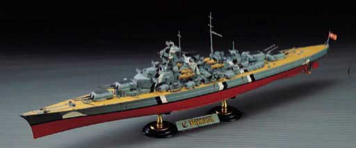 Bismark (1:350), Academy Hobby Plastic Model Kits Item Number ACD14109