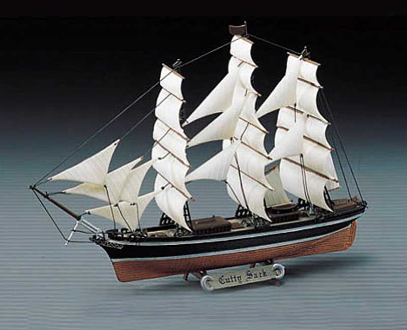 Cutty Sark (1:350), Academy Hobby Plastic Model Kits Item Number ACD14110