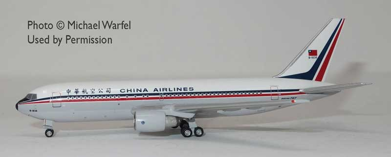 China Airlines 767-200 B-1836 (1:400) by AeroClassics Models Item Number: AC419453