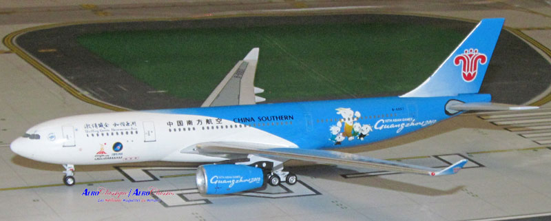 China Southern A330-200 B-6057 (1:400), AeroClassics Models Item Number ACCSN1215