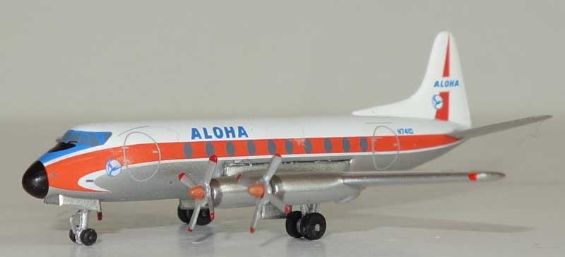 Aloha Airlines Viscount 700 N7410 (1:400)