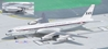 SAS Delivery Colors DC-8-32 OY-KTA (1:400), AeroClassics Models Item Number ACSAS0416
