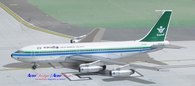 Saudi Arabian New Colors B720B HZ-ACB (1:400), AeroClassics Models Item Number ACSVA1115A