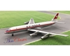 Swissair DC-8-32 with Ground Support Equipment Set HB-IDA (1:400), AeroClassics Models Item Number ACSWR0517
