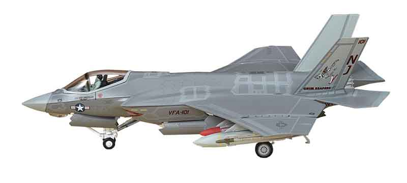 "F-35C Lightning VFA-101 ""Grim Reapers,"" Eglin Air Force Base (1:72)"