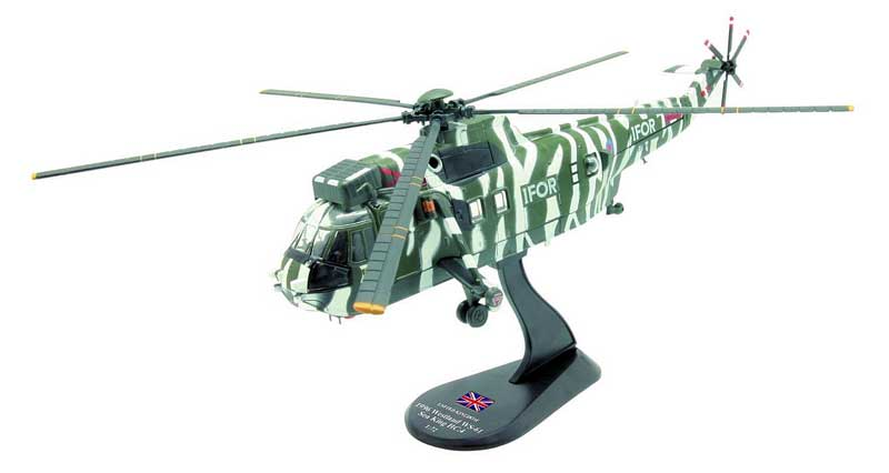 Westland WS-61 Sea King HC.4, Implementation Force, Bosnia / Herzegovina, 1996 (1:72), Amercom Diecast Item Number ACHY08