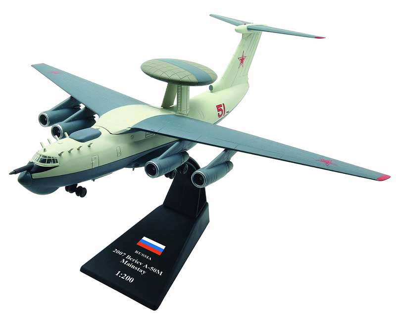 "A-50M ""Mainstay"", Russia, 2007 (1:200), Amercom Diecast Item Number ACLB12"