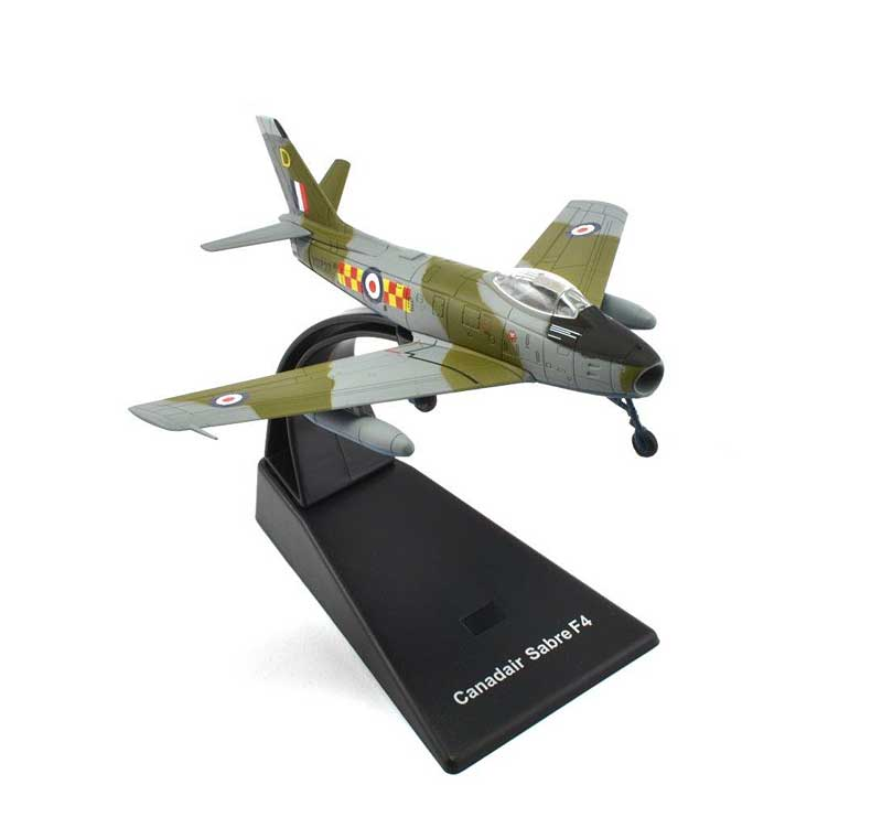 "Canadair Sabre F.4 No. 92 ""East India"" Squadron, RAF Linton-on-Ouse, 1955 (1:100), Atlas Editions, Item Number ATL-4675-108"
