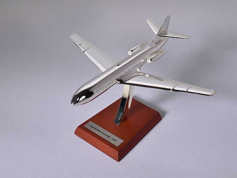 Sud-Aviation Caravelle, 1955 (1:200) , Atlas Editions Item Number ATL-7504-004