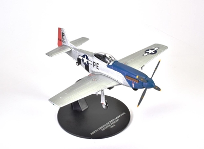 "North American P-51D Mustang, ""Cripes A Mighty,"" 26.83-victory ace George Preddy, 328th FS, 352nd FG, 1944 (1:72) - Preorder item, order now for future delivery, Atlas Editions Item Number ATL-7896-007"