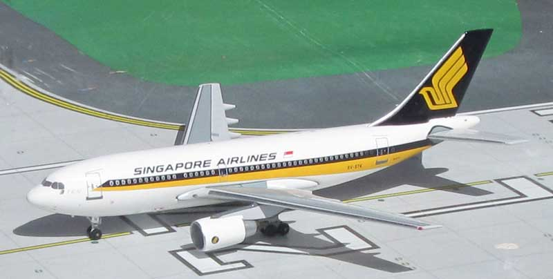 Singapore Airlines A310-222 9V-STK 1980s Colors (1:400)