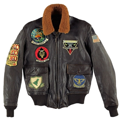 G-1 Style A-6 Intruder Jacket, Cockpit/Avirex Leather Jackets Item Number Z21P021
