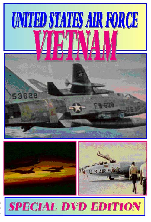 United States Air Force Vietnam (DVD), Non-Fiction Video Aviation DVDs Item Number DV546