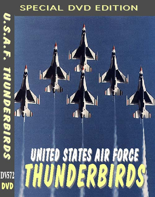United State Air Force Thunderbirds (DVD), Non-Fiction Video Aviation DVDs Item Number DV572