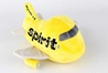 Spirit Airlines Plush Toy with Sound, Daron Toys, Item Number MT025