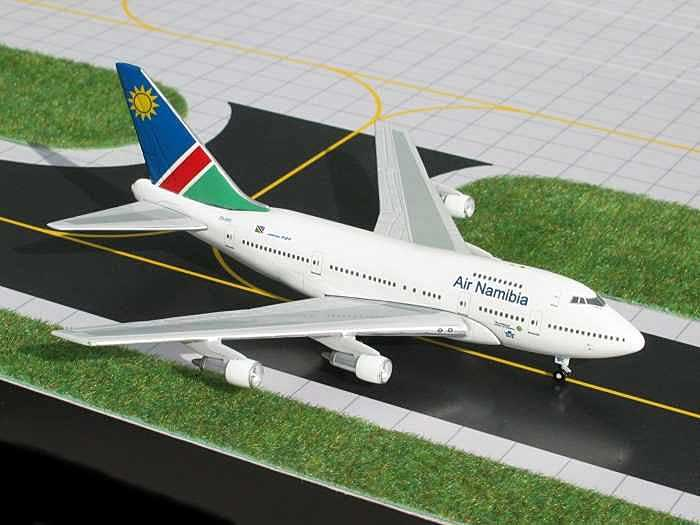 Air Namibia B747SP (Current Colors) (1:400), GeminiJets 400 Diecast Airliners, GJNMB431