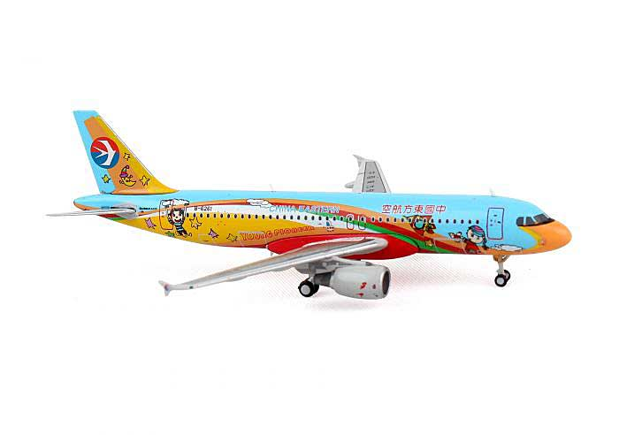 "China Eastern A320 ""Young Pioneer"" B-6261 (1:400), JC Wings Diecast Airliners, Item Number JC4CES375"