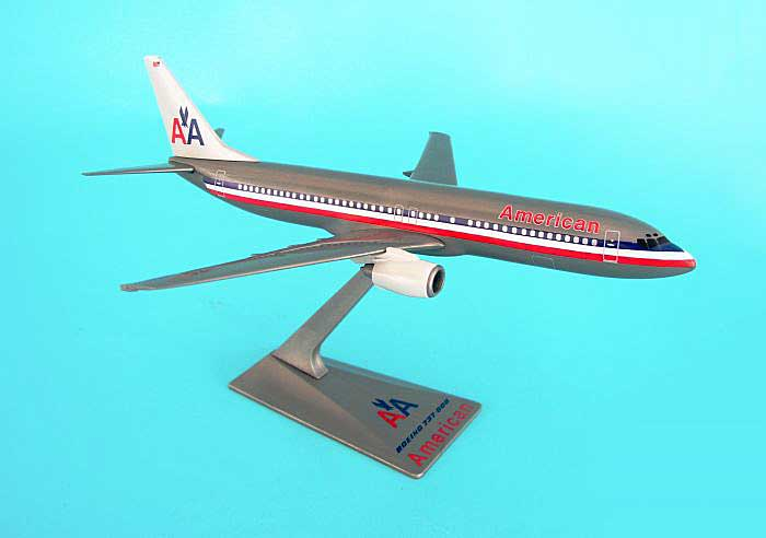 American 737-800 1970-2013 Colors (1:200) by Flight Miniatures Snap-Fit Airliners Item Number: BO-73780H-003