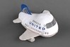 United Airlines (Continental Merger) Plush Toy W/SOUND, Daron Toys, Item Number MT008N-1