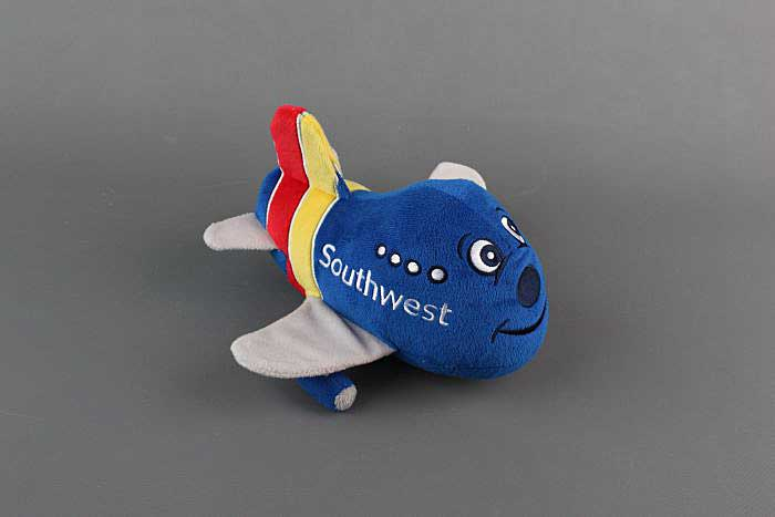 Southwest Airlines Plush Toy, 2015 New Heart Livery, Pilotwear, Item Number MT011-1