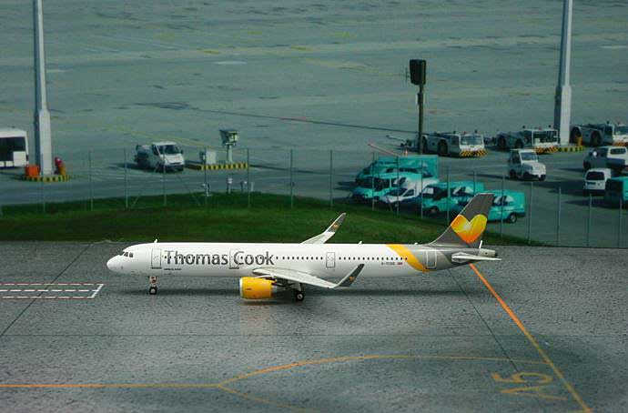 "Thomas Cook A321 Sharklets ""New Livery"" G-TCDG (1:400), Phoenix 1:400 Scale Diecast Aircraft, Item Number PH4TCX1286"