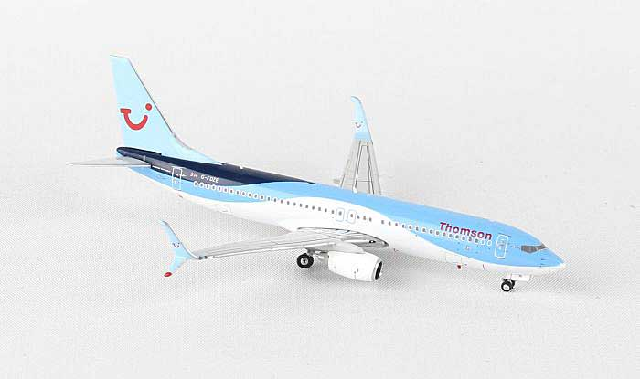 Thomson Airways B737-800MAX G-FDZE ((1:400)), Phoenix (1:400) Scale Diecast Aircraft, Item Number PH4TOM1364