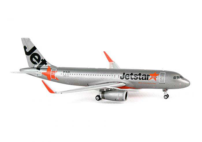 Jetstar Hong Kong A320 Sharklets B-KJA ((1:400)), Phoenix (1:400) Scale Diecast Aircraft, Item Number PH4JKT924