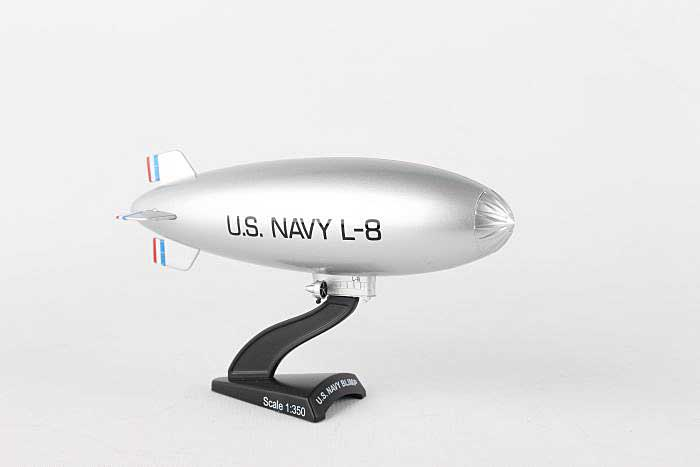 "US Navy Blimp L-8 ""The Ghost Blimp"" (1:350), Postage Stamp Diecast Planes, Item Number PS5410-1"