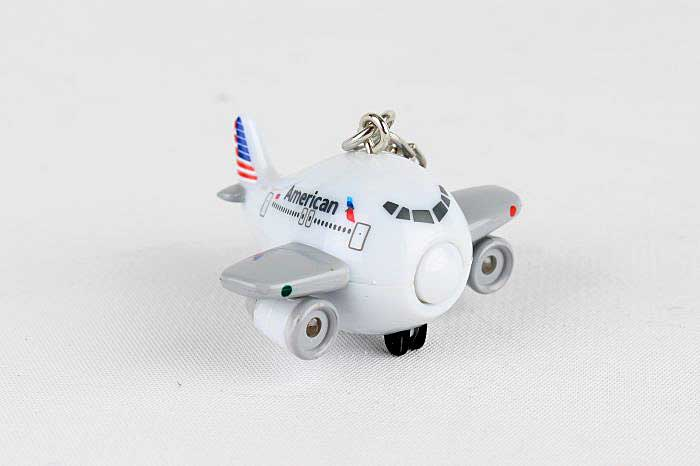 American Airlines Keychain With Light & Sound by Toytech Item Number TT85488-1