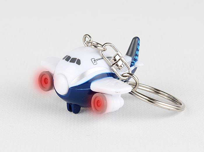 "Boeing """"Dreamliner"""" Airplane Key Chain W/ Lights, Toytech, Item Number TT89244D"