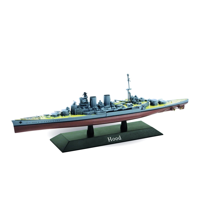 British Royal Navy battlecruiser HMS Hood 1920  (1:1250) by De Agostini Diecast Ships DAKS14