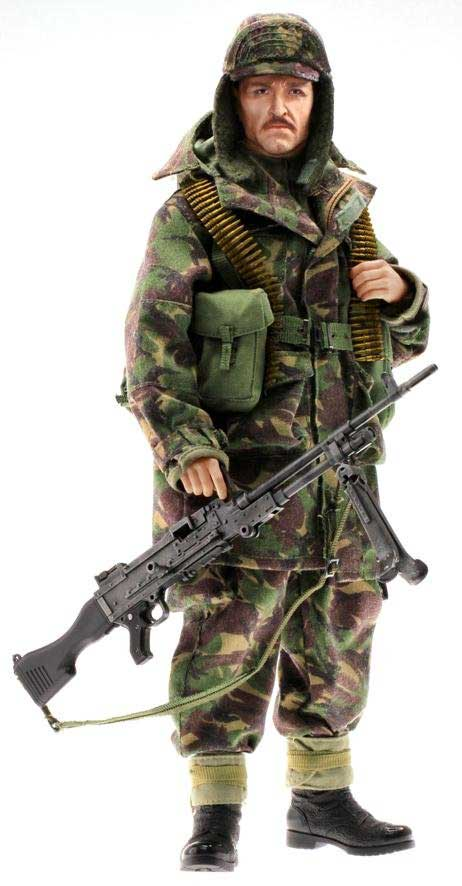 David (Marine) - British GPMG Gunner Royal Marine Falklands War 1982 (1:6), Dragon Collectible Figures Item Number DRF70843