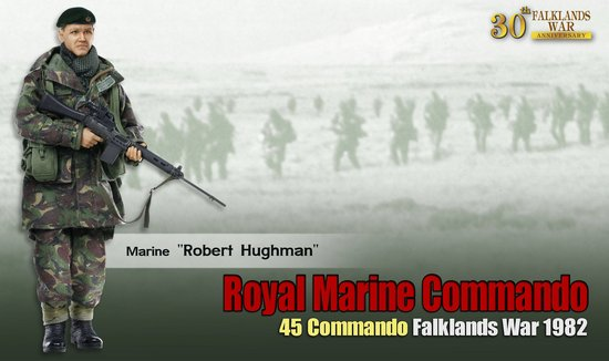 """Robert Hughman"" (Marine) - Royal Marine Commando 45"