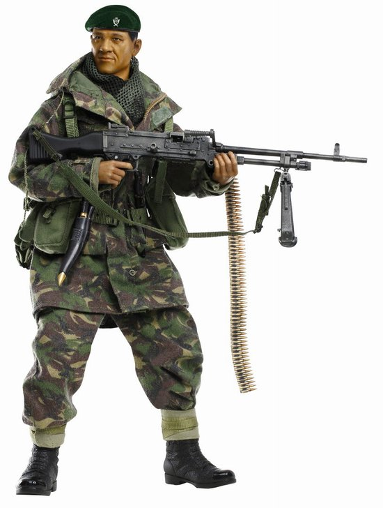 """Dhak Gurung"" (GPMG Gunner) - Gurkha Infantry, 1st Battalion, 7th Duke of Edinburghs Own Gurkha Rifles, Falklands War 1982 (1:6)"