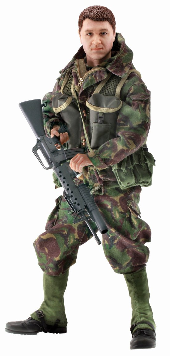Pete Snapper Winner - British SAS Trooper, B Squadron Special Air Service (SAS), Falklands War 1982 (1:6)
