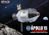 "Apollo 15 ""J-Mission"" Command & Service Module (CSM) (1:72)"