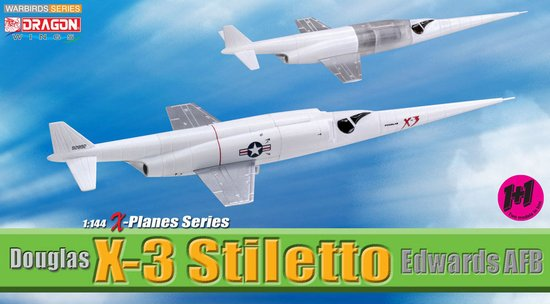 Douglas X-29 Stiletto (2 replicas) (1:144), DragonWings 1:144 scale Diecast Warbirds Item Number DRW51028