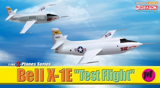 "Bell X-1E ""Test Flight"" (1:144)"