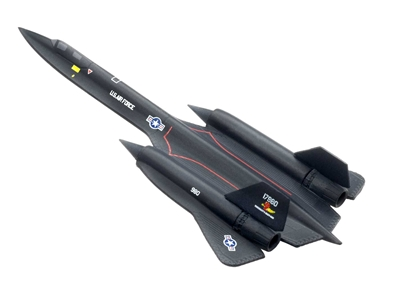"SR-71 A Blackbird ""Rosemarys Baby-San"" (1:400), DragonWings 400 Diecast Airliners Item Number DRW56222"