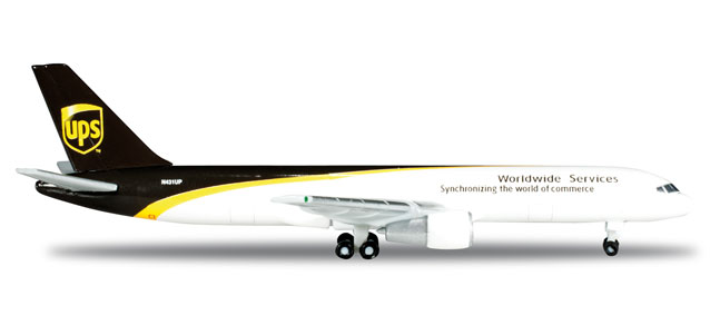 UPS 757-200 (1:500) REG# N431UP, Herpa 1:500 Scale Diecast Airliners Item Number HE524612