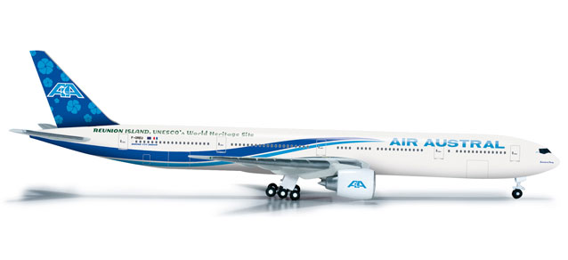 Air Austral 777-300ER (1:500) REG# F-OREU, Herpa 1:500 Scale Diecast Airliners Item Number HE524629