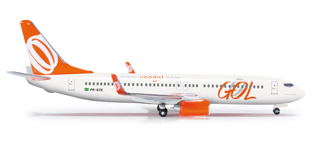 Gol 737-800 (1:500), Herpa 1:500 Scale Diecast Airliners Item Number HE526098
