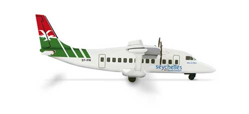 Air Seychelles Shorts 360-300 (1:500), Herpa 1:500 Scale Diecast Airliners Item Number HE517508