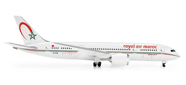 Royal Air Maroc 787-8 (1:500), Herpa 1:500 Scale Diecast Airliners Item Number HE518567