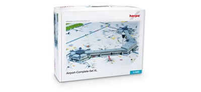 Airport Complete Set XI (1:500), Herpa 1:500 Scale Diecast Airliners Item Number HE520997