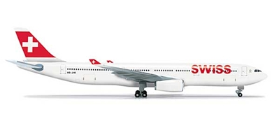 Swiss A330-300 (1:500), Herpa 1:500 Scale Diecast Airliners Item Number HE523134