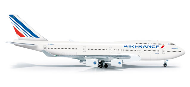 Air France 747-400 (1:500), Herpa 1:500 Scale Diecast Airliners Item Number HE523271